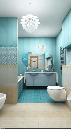 Дизайн-проект ванной комнаты