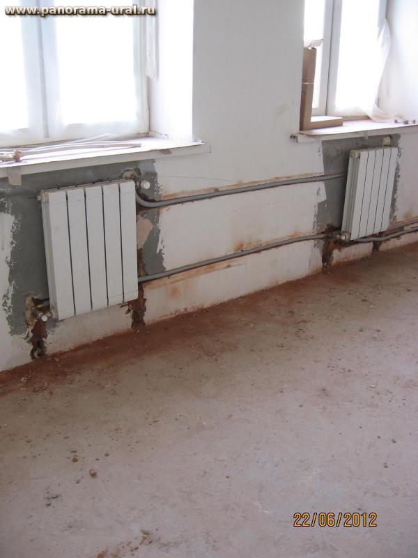 Подводка отопления в частном доме