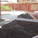 28. Устройство почвогрунта с просеиванием
