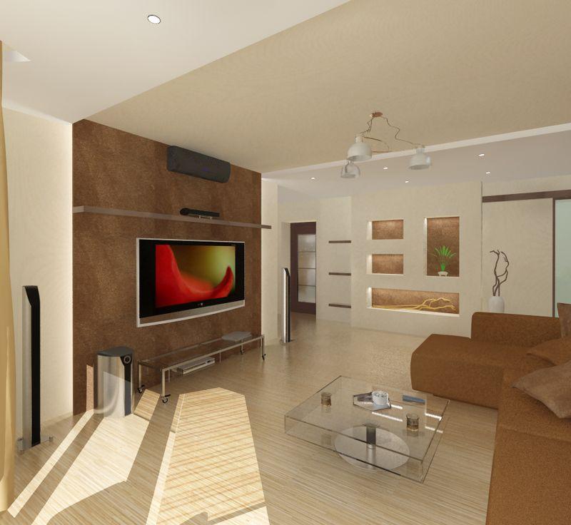 Дизайн-проект гостиной